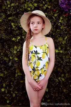 Toddler Baby Girls Swimwear Cartoon Swan Ruffled Swimsuit Beach Wear Sun Protection Bathing Suit with Hat