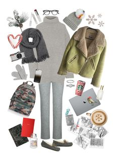 """""""Hello, winter"""" by pankovayuliya on Polyvore featuring мода, Rebecca Minkoff, UGG, Theory, Acne Studios, Isabel Marant, W3LL People, FOSSIL, Dasein и Shay"""