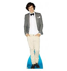 Harry Styles - One Direction - Advanced Graphics Life Size Cardboard Standup Advanced Graphics http://www.amazon.com/dp/B00B4Y9MAK/ref=cm_sw_r_pi_dp_Kf35vb1QHR1QC