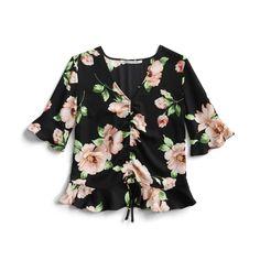 Stitch Fix Spring Stylist Picks: Floral blouse
