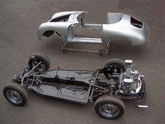 Custom VW Pan Chassis | Quieres un Porsche 356? ¿Tienes un VW Beetle? Montatelo tú mismo
