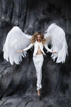 Angels Among Us, City Of Angels, Angels And Demons, Seraph Angel, Angel Wings Costume, Angel Artwork, Angels Beauty, Angel Warrior, Ange Demon