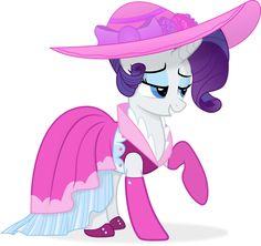 Rarity New Dress Vector by CrimsonBeat on DeviantArt Rarity Pony, My Little Pony Rarity, My Little Pony Dress, My Little Pony Drawing, Mlp Cutie Marks, Horse Fashion, Imagenes My Little Pony, My Little Pony Pictures, Boston Terrier Dog