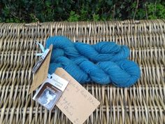 'Sea Willow' Hand Dyed yarn from Moss Stitch
