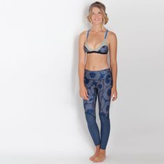 Calafia Surf Leggings - Blue Fossil | Seea . Used for scuba so comfortable. They do run a bit short which I am not to fond of but they are comfortable.