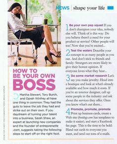 Shape Magazine - Sarah Shaw Consulting