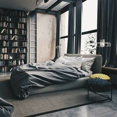 own your morning // city life // bedroom // home decor //