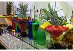 mesa de coquetel de frutas - Pesquisa Google