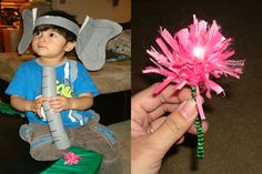 Dr. Seuss-Inspired Crafts--Celebrate Theodore Geisel's (aka Dr. Seuss) birthday and Read Across America Day with these fun crafts.