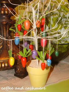 Dollar Tree Easter Tree.