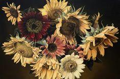 Sunflowers 130 x 195 cm thomasdarnell.com