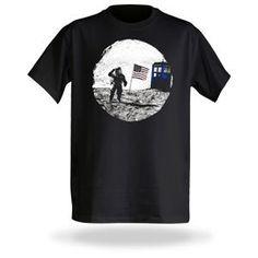 Moon Landing TARDIS Photobomb by Think Geek - Teenormous.com