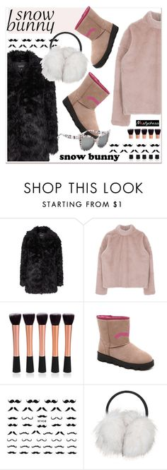 """""""Winter Fun: Snow Bunny Style"""" by paculi ❤ liked on Polyvore featuring Topshop, snowbunny and nastydress"""