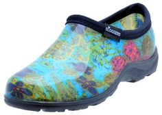Sloggers 5102BL09 Women's Midsummer Garden Shoe, Size-9, Blue - 5102BL09 Size: 9, Color: Blue Features: -Midsummer women's garden shoe.-Great for gardening or kicking around town.-Easy to clean.-Lightweight and comfortable.-High density insole.-Made