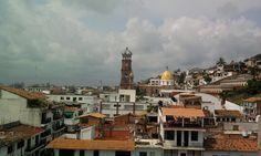 Vista a la Parroquia de Nuestra Señora de Guadalupe desde #HotelCatedral #PuertoVallarta