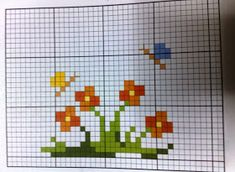 Tiny Cross Stitch, Cross Stitch Bookmarks, Cross Stitch Borders, Cross Stitch Flowers, Counted Cross Stitch Patterns, Cross Stitch Designs, Cross Stitching, Cross Stitch Embroidery, Embroidery Patterns