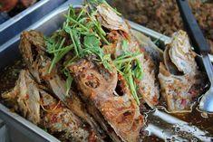 Pla Tod Rad Prik (Deep Fried Chili Fish) ปลาทอดราดพริก