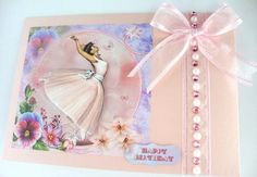 Card Gallery - 1950's Pansy Ballerina Mini Kit