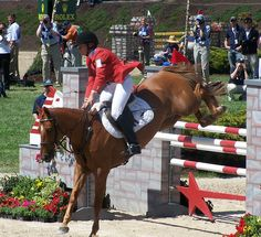 Rolex Kentucky 3 Day Event 2007 - Stadium Jumping by Kelsey Sherman, via Flickr--Karen OConnor