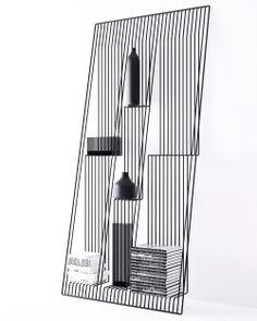 tủ sách tối thiểu được thiết kế bởi @dmitrykozinenko