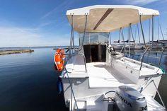 Weekend 820 Hausboot Charter Masuren #Polen #Masuren #motorboot_charter #hausboot