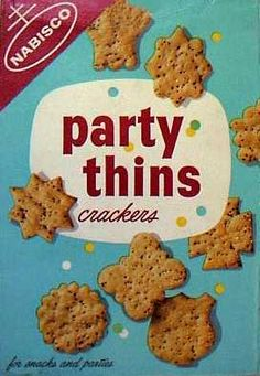 Party Thins crackers  c. 1961