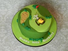 The best ways to Make A Golf Cake 90th Birthday Cakes, Birtday Cake, Chocolate Sponge Cake, Tasty Chocolate Cake, Genoise Cake, Dad Cake, Dry Coconut, Celebration Cakes, Baby Shower Cakes
