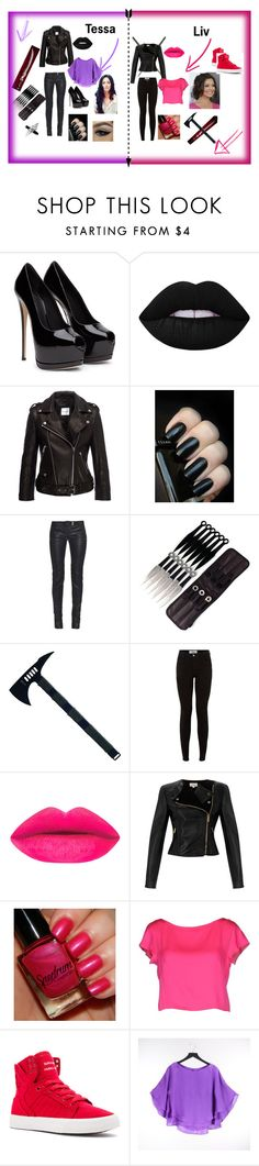 Shadowhunters world by lenlea524 on Polyvore featuring beauty, Lime Crime, Milly, Alice + Olivia, Temperley London, Balmain and Supra