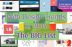Web Design Trends in 2017 – The Big List – Social Strategy Ltd.