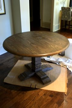 How to Graywashing a Table (or other furniture)