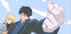 roy and riza GIF | roy mustang is dead sexy fullmetal alchemist gif