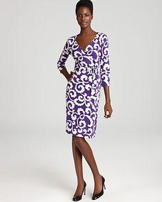 1e6afc8096753 DIANE von FURSTENBERG Wrap Dress - New Julian Two Women - Contemporary -  Bloomingdale s