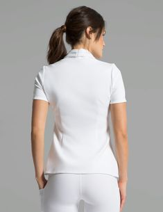 Contemporary medical apparel for men and women. Our scrubs and lab coats combine both fashion and function and are antimicrobial finished. Scrubs Outfit, Medical Uniforms, Uniform Design, Medical Scrubs, Lace Outfit, Nursing Dress, Street Style Women, Dentistry, Activewear