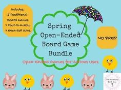 Spring Open-Ended Board Game Bundle Speech... by The Whimsical Word Inc | Teachers Pay Teachers (scheduled via http://www.tailwindapp.com?utm_source=pinterest&utm_medium=twpin&utm_content=post152697847&utm_campaign=scheduler_attribution)
