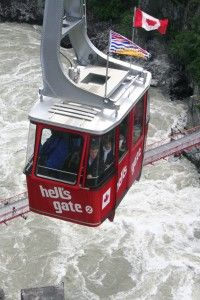 Not sure I'd be brave enough to ride the tram...