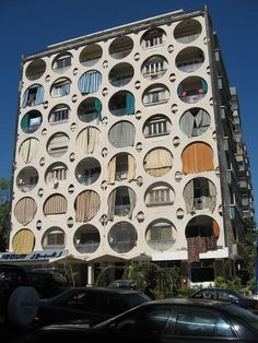 1970s apartment block, Beirut