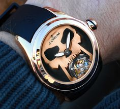 Corum Bubble 47 Flying Tourbillon Watch - by Kenny Yeo - Learn more about this tourbillon from Corum at aBlogtoWatch.com