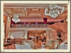 Champagne Bar, The Plaza Hotel, Manhattan, New York