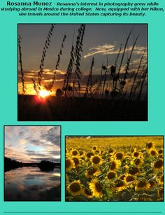 Rosanna Munoz photography featured at Images Art Gallery, 6-9 p.m., May 20. Downtown Overland Park, Kansas