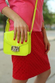 Neon bag