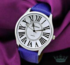 GRAND PALAIS Armbanduhr Unisex silber blau vegan von Schloss Klunkerstein - Designer Schmuck Manufaktur & Armbanduhren für besondere Menschen. Naturschmuck, Geschenke, Vintage Raritäten mit Geschichte! auf DaWanda.com