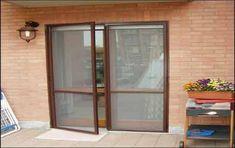 σήτα ανοιγόμενη πόρτα Wood Exterior Door, Mosquito Net, Double Doors, China Cabinet, Windows, The Originals, Safety, Furniture, Home Decor