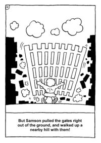 Samson - ChristArt Print Ready Christian Handout Search - page 2