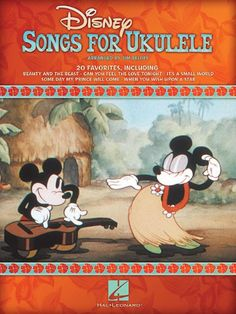 Shop and Buy Disney Songs For Ukulele sheet music. Ukulele sheet music book by Various: Hal Leonard at Sheet Music Plus: The World Largest Selection of Sheet Music. Ukulele Books, Cool Ukulele, Ukulele Tabs, Ukulele Chords, Disney Ukulele, Uke Songs, Singing Lessons, Singing Tips, Learn Singing