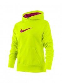Nike Girls' KO Swoosh Hoody- $40.00 #hibbett