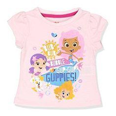 NEW Bubble Guppies Boys Short Sleeve Orange Mr Grouper Tee 5T//6