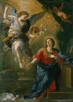 The Annunciation, 1672  Luca Giordano
