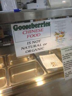 bloglosingrip - fotos engraçadas 14 - Comida Chinesa - Não é nem natural nem orgânica... É apenas comida chinesa!