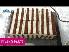BÖYLE PASTA HİÇ GÖRMEDİNİZ|ŞAHANE PİYANO PASTA Tarifi|Kolay Pasta Tarifleri|Masmavi3Mutfakta - YouTube