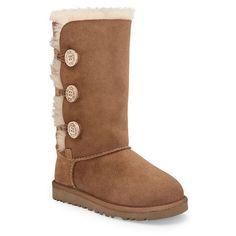 6c9a62b8468d Ugg Australia Girls  Bailey Button Triplet Boots - Little Kid